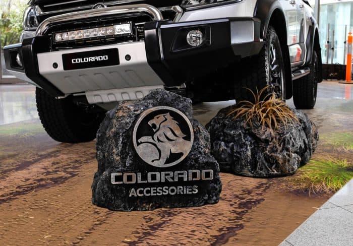 Custom Display - boulder set